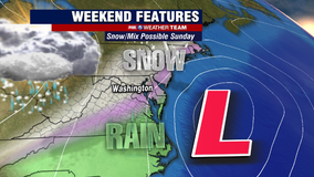 Snow possible Sunday morning across DC region