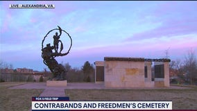 FOX 5 FIELD TRIP: Contrabands and Freedmen Cemetery