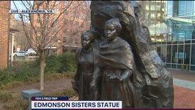 FOX 5 FIELD TRIP: Edmonson Sisters Statue