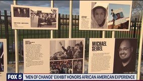 Outdoor Black History Month Exhibit 'Men Of Change: Taking It To The Streets'