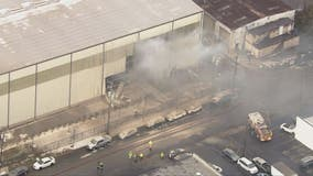 Report of possible explosion at Prince George's County warehouse
