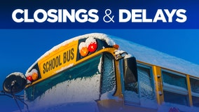 Weather delay announcements for Tuesday, February 23