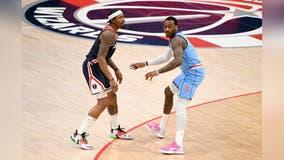 Bradley Beal outduels ex-teammate John Wall, Wizards top Rockets 131-119