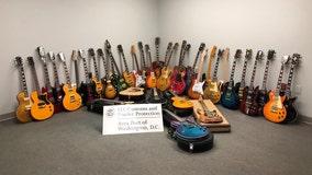 Washington Dulles airport agents seize dozens of high-end phony guitars