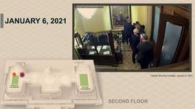 New Capitol riot surveillance video shows Pence escape from Senate chamber