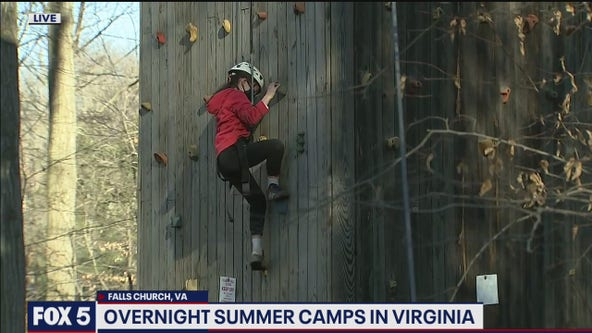 Overnight summer camps are back in Virginia