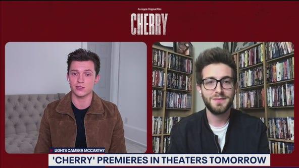 "Tom Holland talks new film ""Cherry"" premiering Friday"