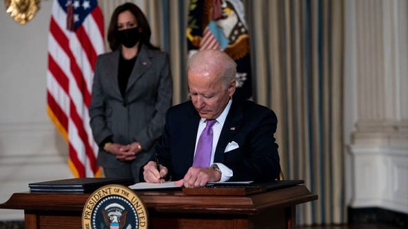 President Biden signs executive order to review American supply chains for vital goods