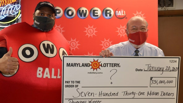 Powerball $731.1M jackpot: How long before ticket sold in Maryland expires? What if it goes unclaimed?