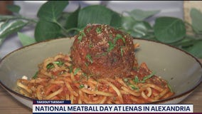 Celebrate National Meatball Day at Lenas in Alexandria