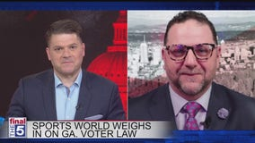 Calls for Georgia boycott after changes to election law