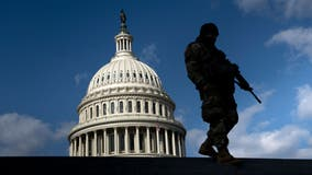Nearly 2,300 National Guard personnel will stay in DC through May 23: DOD