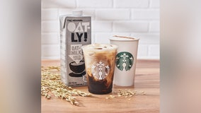 Starbucks adding Oatly oat milk to national menu, debuting new non-dairy drinks