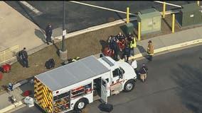 Emergency crews responding to hazmat situation at Waldorf ice rink, evacuations underway