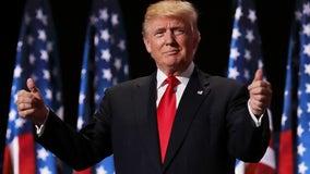 Trump makes surprise appearance at Mar-a-Lago event, hints at Lara Senate bid