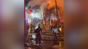 Gettysburg 3-alarms fire caused by car crashing into gift shop, cops say
