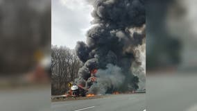 One dead after reported tractor trailer rollover in Frederick County, officials say