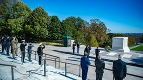 Tomb of the Unknown Soldier at Arlington National Cemetery reopens to public