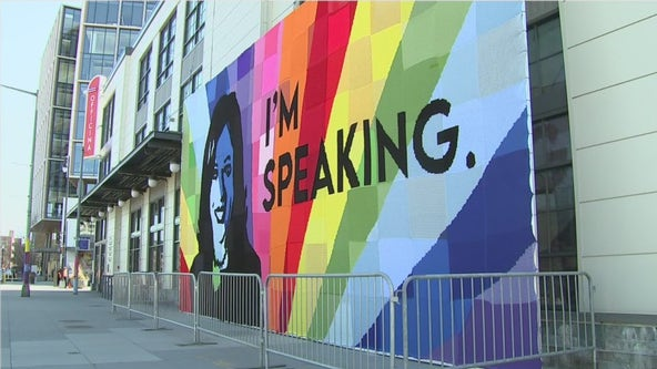 New Kamala Harris mural at the Wharf honors International Women's Day
