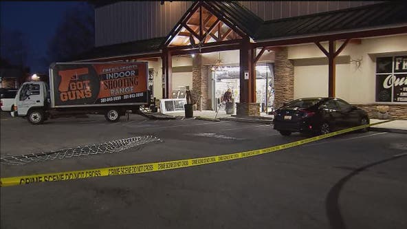 Firearms stolen in smash-and-grab after truck smashes into Charles County gun store, authorities say
