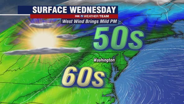 Chilly Wednesday morning, mild temperatures by the afternoon