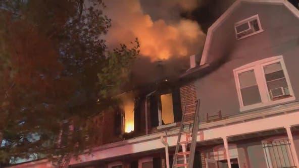 Investigation after 2 fires at same DC location - hours apart - injure firefighter, displace over a dozen