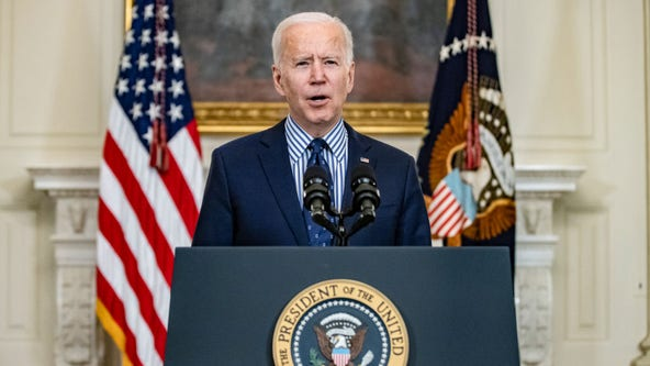 Biden signs executive orders aimed at gender equity on International Women's Day