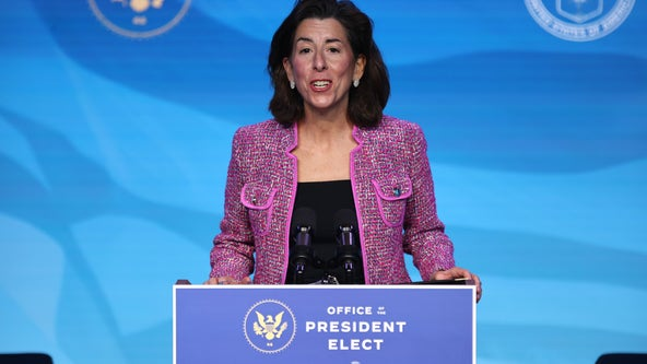 Senate confirms Rhode Island Gov. Gina Raimondo as commerce secretary
