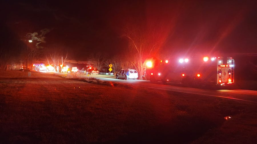 Man injured, 10 displaced in Libertytown after house explosion