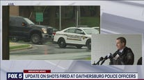 Gaithersburg police provide update on search for gunman who fired at officers