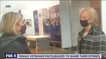 Female veterans encouraged to share their stories