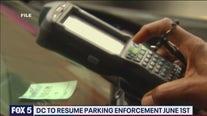 DC to resume enforcing parking