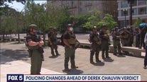DC police prepare for unrest ahead of Derek Chauvin verdict