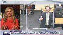 Jury in deliberations in Derek Chauvin trial