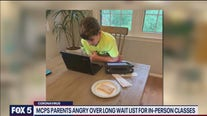 Montgomery County parents angry about long waiting list for in person learning