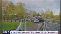 Suspected hack involved in car thefts