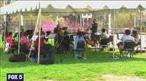 DC Youth Orchestra rehearses in person