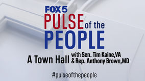 FOX 5's 'Pulse of the People' with Tim Kaine, Anthony Brown addresses topics from COVID-19 to police reform