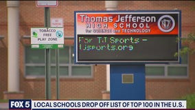 Some local high schools drop out of US News and World Report's top schools list