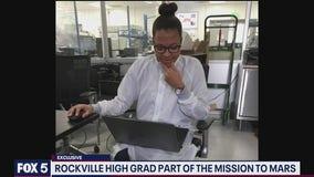 Rockville High School grad worked on Mars helicopter flight