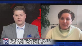 White House will not mandate vaccine passports but will not deter private industry