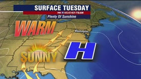 FOX 5 Weather afternoon forecast for Tuesday, April 20