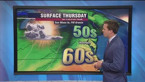 FOX 5 Weather afternoon forecast for Thursday, April 15