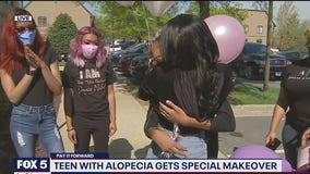 PAY IT FORWARD: Special makeover for tween with alopecia revealed live!