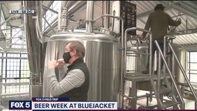 FOX 5 FIELD TRIP: The brewing process at Bluejacket brewery