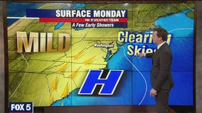 FOX 5 Weather afternoon forecast for Monday, April 19