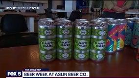 FOX 5 FIELD TRIP: Beer Week at Aslin Beer Co.