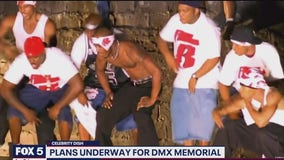CELEBRITY DISH: DMX memorial and The Rock for president?