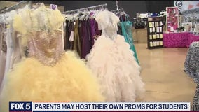 Some parents, students raising money for proms amid uncertainty