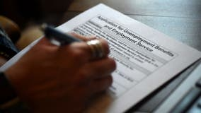 Unemployment claims fall to 553,000
